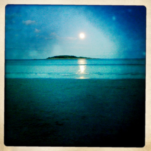 Maine moonlight (my iPhone series)